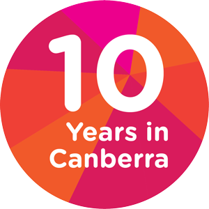 10 years in canberra